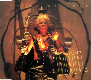 Billy-Idol-Maxi-CD-Cradle-Of-Love-Europe-VG-VG