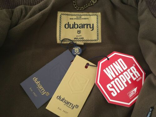Uk Ireland Of New Jacket Dubarry Espresso Windstopper Size Flannery 10 Brand qUzpy