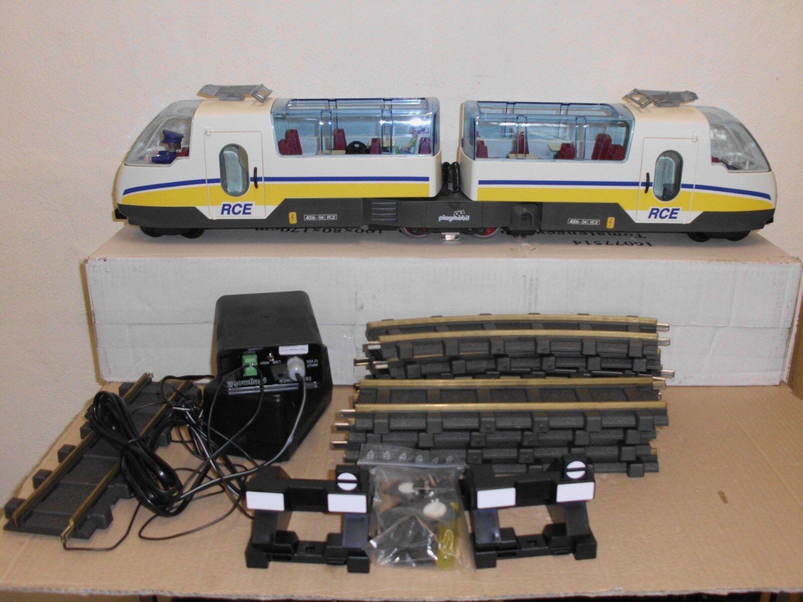Seltene Playmobil Pendelanlage mit Zubehör für Schaufenster gabs nur für für für Händler dffb3d