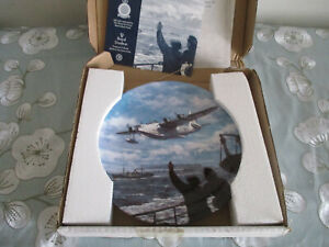 CONVOY-DUTY-ROYAL-DOULTON-COLLECTOR-039-S-PLATE-GUARDIANS-OF-THE-SEA-SERIES