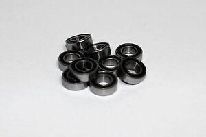 Rubber Sealed 3/16x3/8x1/8 bearing 10 pcs TRAXXAS LOSI TAMIYA ASSOCIATED