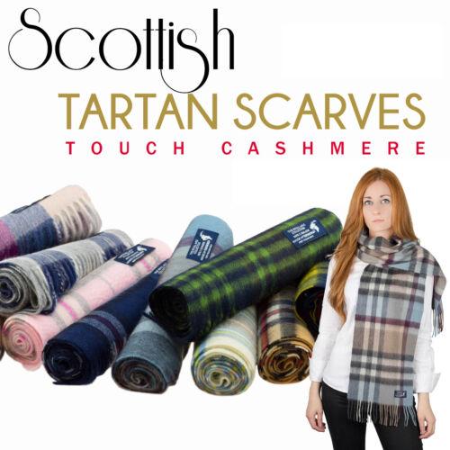 Kiltane di Scozia misto cachemire SCOZZESE TARTAN SCIARPE//Scialle-molti Tartan!!!