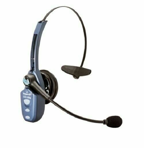 Blueparrot B250 Xts Extreme Noise Cancelling Bluetooth Headset Blue For Sale Online Ebay
