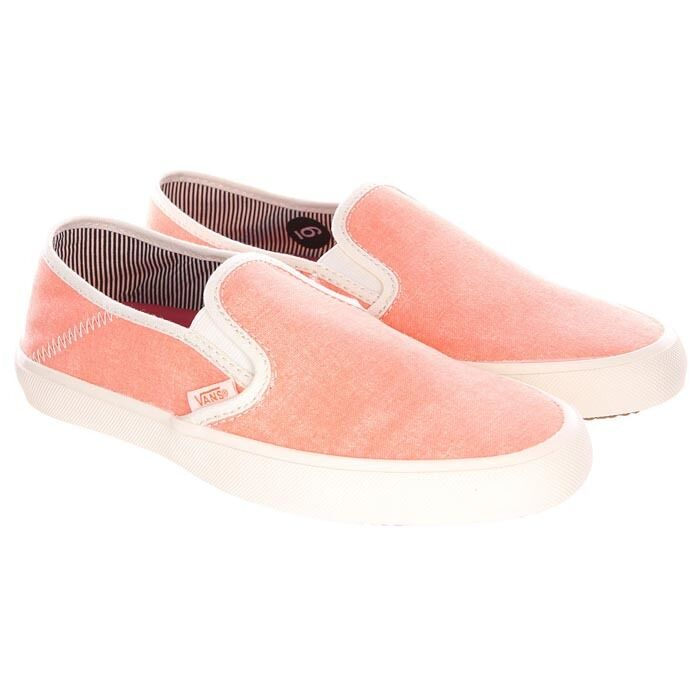 Vans Comina Schuhe Sneaker Turnschuhe Trainers Slipper Slip On orange Canvas