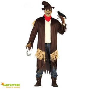Caricamento dell immagine in corso costume-halloween-spaventapasseri- tenebroso-spauracchio-vestito-horror-tg- 73802ebf0342