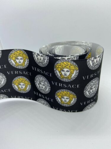 "$ 2.70 For yard 3"" Inch Grosgrain  Printed Ribbon"