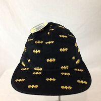 Men's Bioworld Batman Embroidered Bat Signal Baseball Cap Strap Back
