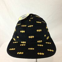 Men's Bioworld Batman Embroidered Bat Signal Baseball Cap Strap Back