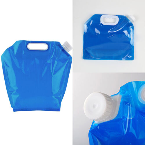 5L//10L Portable Drinking Water Container Storage Bags For Camping Hiking Tools