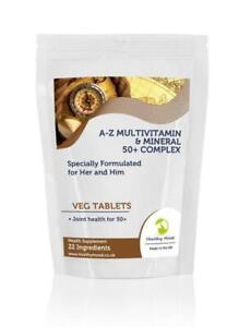 50-Plus-A-Z-Multivitamin-amp-Mineral-23-Micronutrients-Complex-x1000-Tablets-Lett