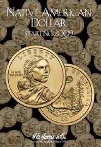 Native-American-Dollar-Coin-Folder-Album-Starting-2009-by-H-E-Harris