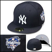 Era York Yankees Fitted Hat Cap 2000 World Series Side Patch Mlb