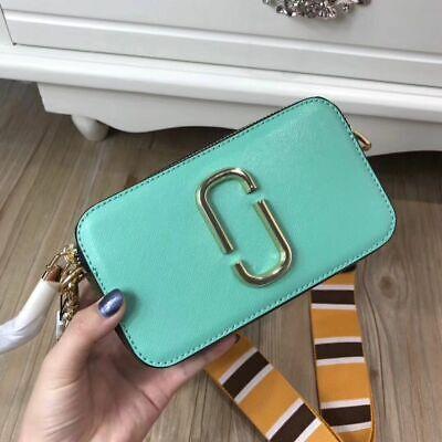 Collezione Qui Hot Sales Marc Jacobs Snapshot Small Camera Bag Ice Blue Multi.. Sconto Online