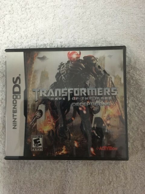 Transformers Dark Of The Moon - Decepticons Nintendo DS