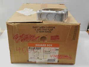 25 Hubbell Square Box Extension Ring 250 4 11 16 Quot 1 1 2