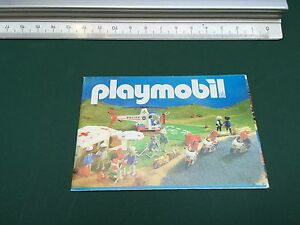 Rare-CATALOGUE-CATALOG-KATALOG-PLAYMOBIL-System-1988