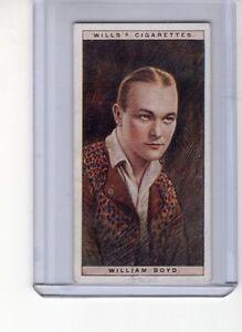 Wills-Cigarettes-1928-Cinema-Stars-Series-1-2-William-Boyd-EXMT-Tobacco-Card