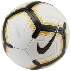 Details About Soccer Ball Nike Strike White Size 5 Football Fussball Ballon