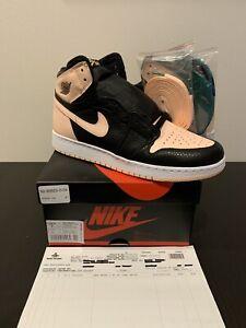 new product 80caa 9c4e3 Image is loading Nike-Air-Jordan-1-Retro-High-OG-Crimson-