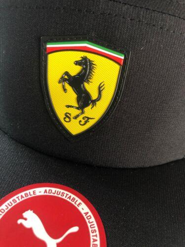 Ferrari Motorsport Fan indossano il colpaccio Cap in nero taglia unica