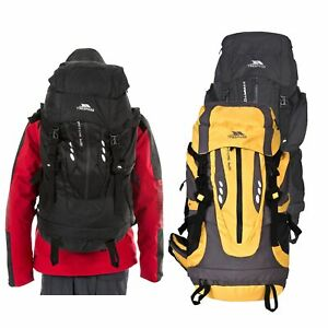Trespass-Stratos-65-Litre-Rucksack-Hiking-Travel-Camping-Trekking-Backpack