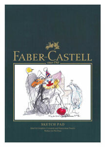 791013-Faber-Castell-A4-Sketch-Pad-160gsm-40-Pages-Sheets-Drawing-Art-Artist