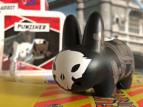 "Kidrobot Marvel 2.5"" Labbit Series 1 Punisher New W//Card Box /& Accessories"