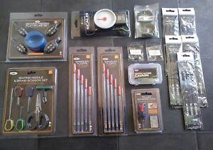 Carp-Fishing-Set-Up-Kit-Starter-Pack-Floats-hair-rigs-end-set-scales-plus