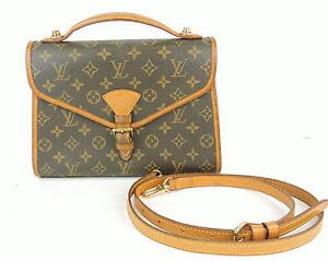 Image Is Loading Authentic Louis Vuitton Bel Air Monogram Flap Hand