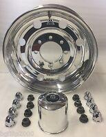 17.5x 6.75 8x6.5 Alcoa Aluminum Trailer Wheel Rim Part 661401 5/8 Studs