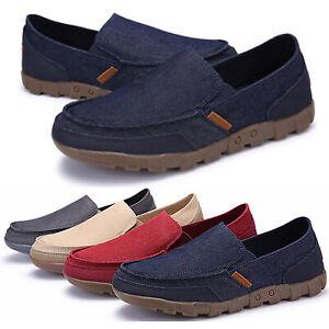 wholesale dealer f8c24 af764 Details about Herren Mokassins Freizeitschuhe Slip On Schuhe Sommer Schuhe  Loafers Stoffschuhe