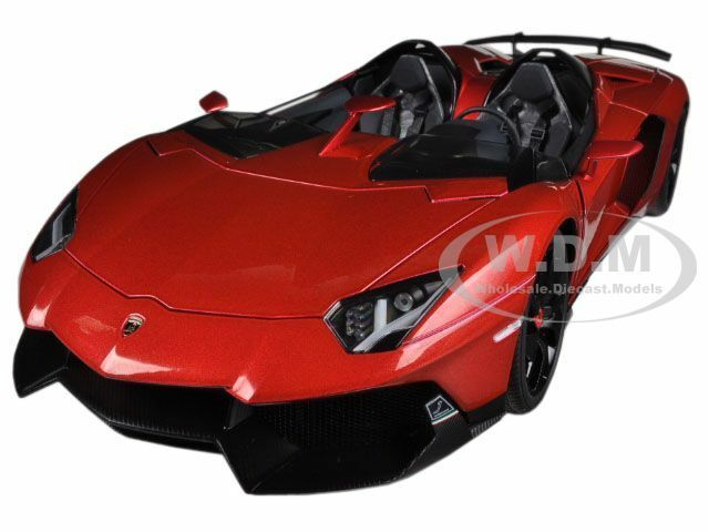precio mas barato Lamborghini Aventador J Rojo Metálico 1 18 Diecast Diecast Diecast Model Coche By Autoart 74673  venta mundialmente famosa en línea
