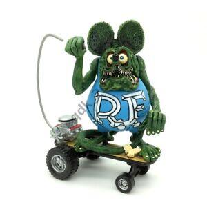 Rat Fink Sidewalk Surfer Skateboard Ed Roth Big Daddy Loose Toy Action Figure