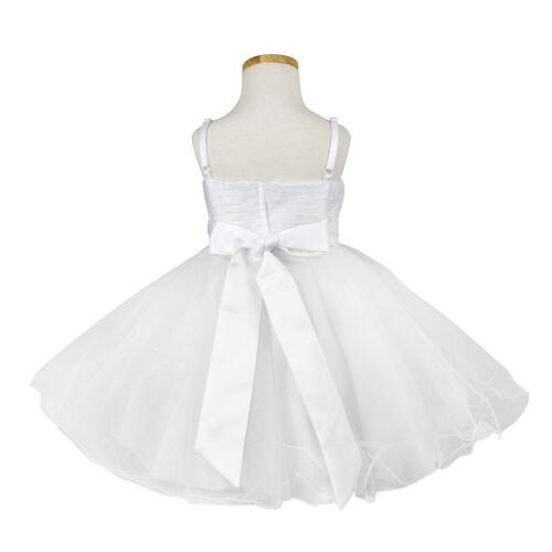 Baby Girls Formal Dress Birthday Communion Flower Girls SUMMER Dresses sz000-16