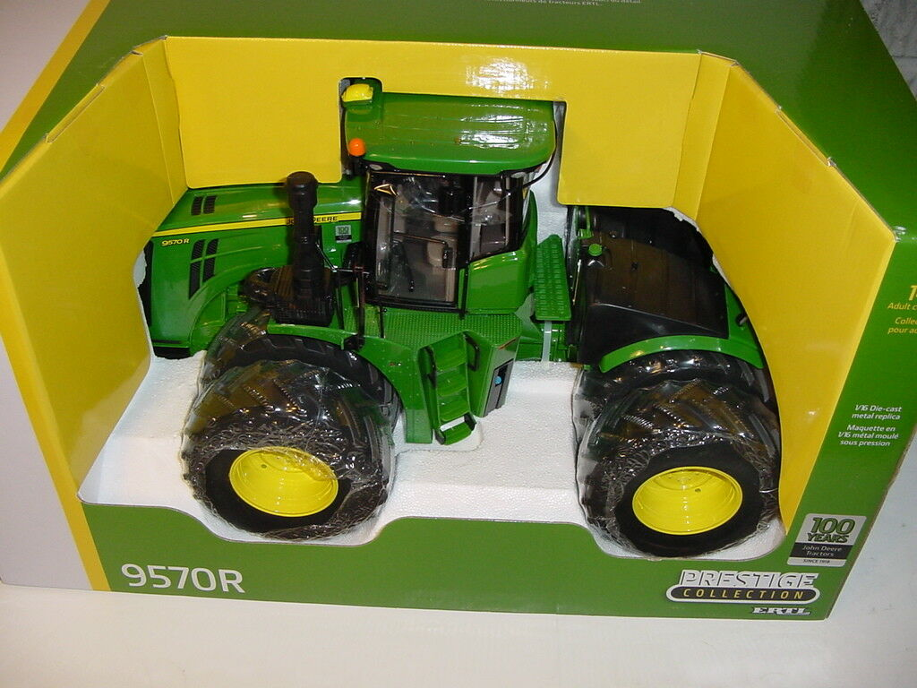 1 16 JOHN DEERE   Limited Edition  9570R 9570R 9570R GREEN TRACTOR 100 YEAR ANNIVERSARY NIB 32275b