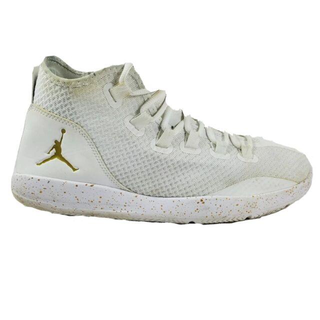 Nike Jordan Reveal White Gold Mens