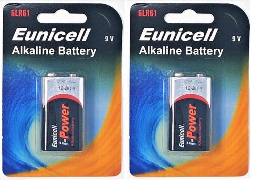 2 Blister a 1 Batterie 2 x 6LR61 9V Block Alkaline Batterie MN1604