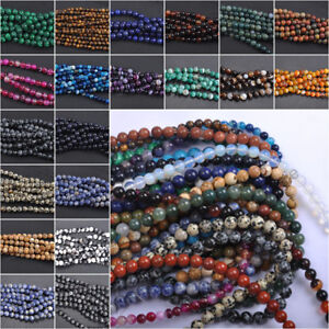 Wholesale-Natural-Gemstone-Round-Spacer-Loose-Beads-Stone-4MM-6MM-8MM-10MM-12MM