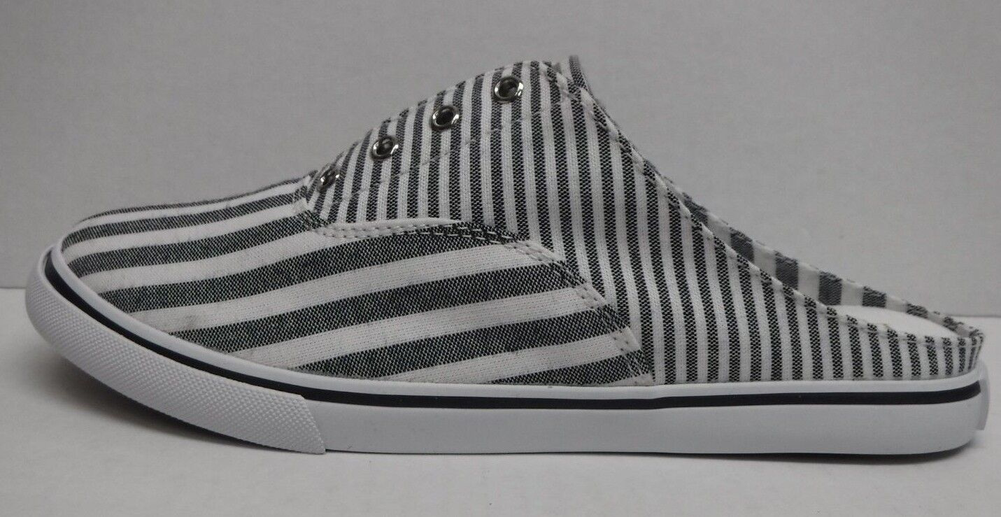 Lauren Ralph Lauren Größe 7.5 Blau Weiß Slip On Sneakers New Damenschuhe Schuhes