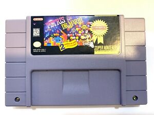Tetris-and-Dr-Mario-Super-Nintendo-SNES-Game-Tested-Working-AUTHENTIC