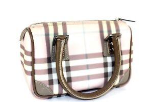 f23c35a5b902 Image is loading Authentic-Burberry-London-Mini-Hand-Bag-Nova-Check-