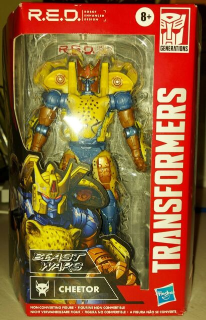 Cheetor R.E.D. RED Transformers Beast Wars Series - In Hand - Hasbro 6