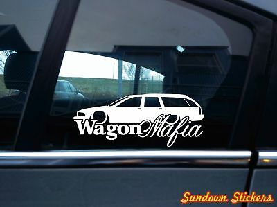 for Chevrolet Caprice station W 1991-1996 V2 Lowered WAGON MAFIA sticker