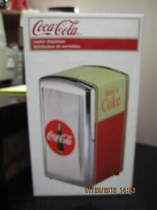 Coca-Cola-034-Have-A-Coke-034-Napkin-Dispenser-Holder-NEW