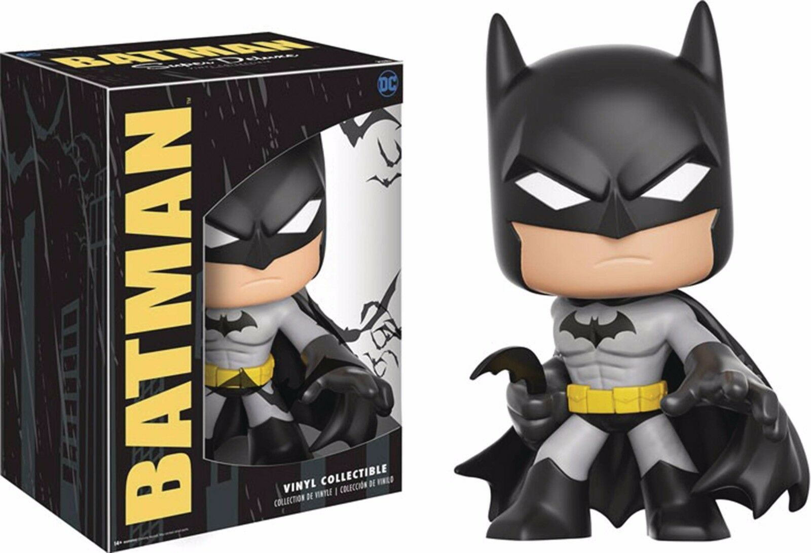 Funko super deluxe vinyl - batman - figur dc collectibles.