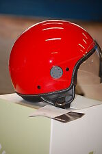 All New Genuine Vespa Aviator Helmet - Red - Size Large