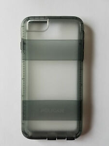 official photos 5c2fd 8df2c Details about Unused Clear/Gray Pelican Voyager Case Apple iPhone 6/6s Plus  -WITHOUT HOLSTER