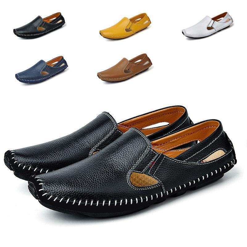 Men Loafer Summer Breathable Driving Moccasin Casual Slip On shoes Sandals New
