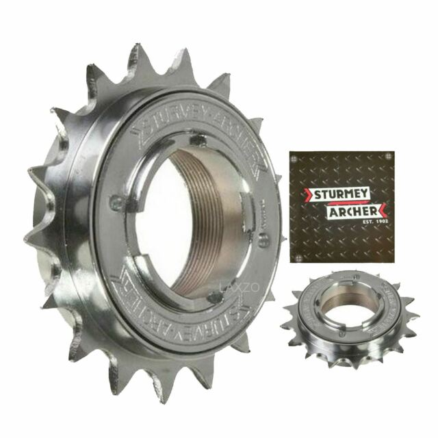 16T M37 x24 Thread 7313 DNP BMX Freewheel Screw-On Clutch Gear 1//2 x 3//32/""