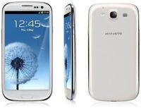 Smartphone Samsung Galaxy S3 III GT-I9300 White-Unlocked Mobile Phone 16GB